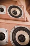 дикторы fi высокие Стоковые Фотографии RF