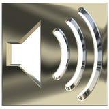 диктор иконы 3d Стоковые Фотографии RF
