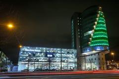 Дилерские полномочия Benz Мерседес в Мюнхене Стоковое фото RF