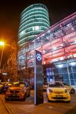 Дилерские полномочия Benz Мерседес в Мюнхене Стоковая Фотография
