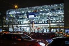 Дилерские полномочия Benz Мерседес в Мюнхене Стоковые Фото