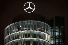 Дилерские полномочия Benz Мерседес в Мюнхене Стоковое Фото