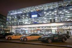 Дилерские полномочия Benz Мерседес в Мюнхене Стоковые Изображения RF