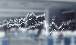 Динамика продаж и концепция роста Мультимедиа Стоковое Изображение RF