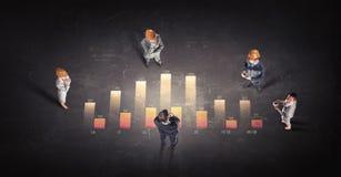 Динамика роста в деле Стоковые Фото