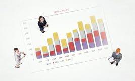 Динамика роста в деле Стоковая Фотография