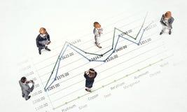 Динамика роста в деле Стоковое Изображение RF