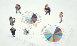 Динамика роста в деле Стоковые Изображения RF