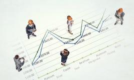 Динамика роста в деле стоковые фотографии rf