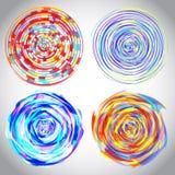 Динамическая иллюстрация подачи иллюстрация вектора