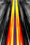 Динамическая предпосылка световых лучей Стоковые Фото