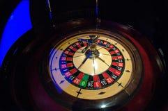 Динамическая рулетка в казино Стоковое Изображение
