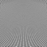 Динамические линии решетка Monochrome геометрическая картина, абстрактное textu Стоковые Изображения