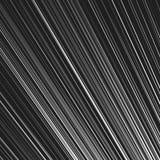 Динамические, радиальные линии картина Прямые наклоненные линии чернота и Стоковые Фотографии RF