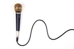 динамический микрофон стоковое изображение rf