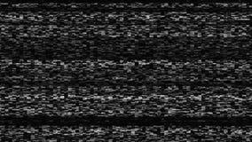 Динамический шум ТВ, плохой сигнал ТВ, черно-белый, monochrome, фон перевода 3d Стоковые Изображения RF