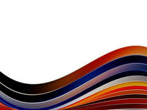 динамически волна Стоковая Фотография RF