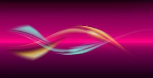 динамически волны Стоковое Фото