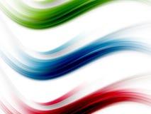 динамически волны Стоковое Изображение RF