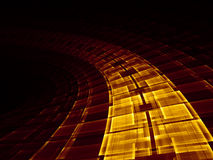 динамически решетка Стоковое фото RF