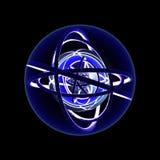 динамически ровная сфера 2 Стоковое Изображение