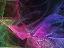 Динамическое абстрактной вселенной состава элегантности приглашения компьютера фрактали сюрреалистическое творческое иллюстрация вектора
