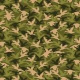 Династия утки, охотясь картина Стоковое Фото