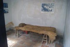 Династия Qing китайца, дом дыма опиума стоковые изображения rf