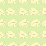 Динозавры прогулки смешные бесплатная иллюстрация