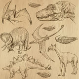Динозавры 4 Стоковые Фото