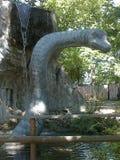 Динозавр в dinopark стоковое фото rf