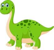 Динозавр шаржа прелестный Стоковые Изображения
