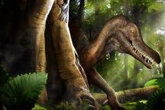 динозавр стоковая фотография