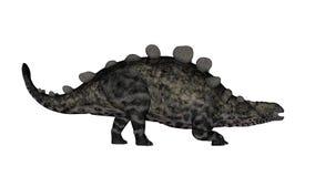 Динозавр Chrichtonsaurus идя - 3D представляют стоковые изображения