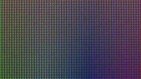 Диод шарика светов СИД крупного плана от панели экранного дисплея монитора компьютера Стоковое Фото