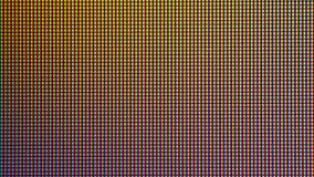 Диод шарика светов СИД крупного плана от экран монитора ТВ СИД или СИД Стоковая Фотография