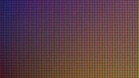 Диод шарика светов СИД крупного плана от экран монитора ТВ СИД или СИД Стоковое фото RF