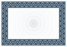 диплом сертификата Стоковое Фото