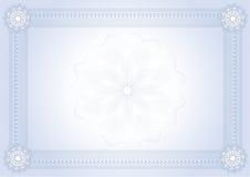 диплом сертификата Иллюстрация штока