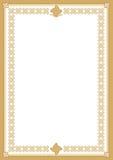 диплом сертификата Стоковая Фотография