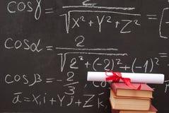 диплом chalkboard Стоковое Фото