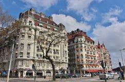Дипломат эспланады гостиницы и гостиницы на Strandvägen Стоковые Фотографии RF