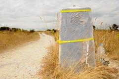 директория 2 отсутствие камня santiago к стоковое фото