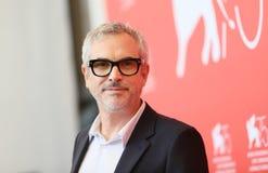 Директор Альфонс Cuaron присутствует на photocall ` Roma ` стоковая фотография