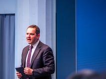 Директор по маркетингу Deon Newman IBM Уотсона IoT главный Стоковая Фотография