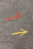 Дирекционные стрелки Стоковая Фотография RF