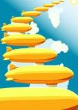Дирижабли, иллюстрация вектора Стоковое фото RF