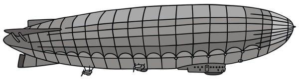 Дирижабль Стоковое Изображение