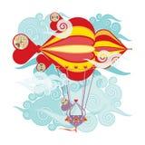 Дирижабль Стоковое Изображение RF