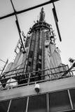 Дирижабля Зеппелина Имперского штата антенны пункт воздушного приземляясь Стоковые Изображения RF